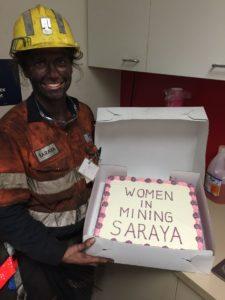 Saraya D'Arth coal miner